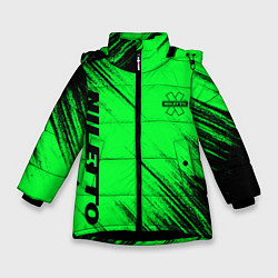 Куртка зимняя для девочки Niletto цвета 3D-черный — фото 1