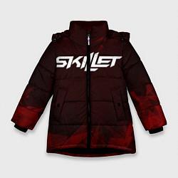 Куртка зимняя для девочки Skillet цвета 3D-черный — фото 1