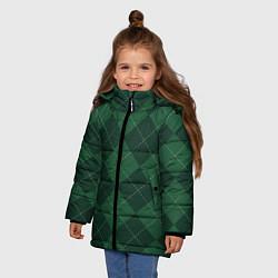 Куртка зимняя для девочки ДЕНЬ СВЯТОГО ПАТРИКА цвета 3D-черный — фото 2