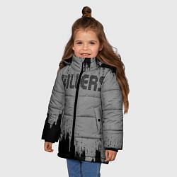 Куртка зимняя для девочки The Killers Logo - фото 2