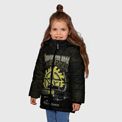 Куртка зимняя для девочки Winchester Bros цвета 3D-черный — фото 2