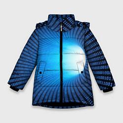 Куртка зимняя для девочки Tunnel цвета 3D-черный — фото 1