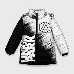 Куртка зимняя для девочки LINKIN PARK 3 цвета 3D-черный — фото 1