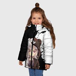 Куртка зимняя для девочки Danganropa цвета 3D-черный — фото 2