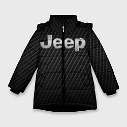 Куртка зимняя для девочки Jeep Z цвета 3D-черный — фото 1