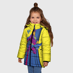 Куртка зимняя для девочки Superman - фото 2