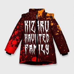 Куртка зимняя для девочки KIZARU КИЗАРУ цвета 3D-черный — фото 1