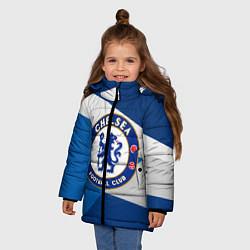 Куртка зимняя для девочки Chelsea Exlusive цвета 3D-черный — фото 2