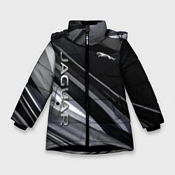 Куртка зимняя для девочки Jaguar Ягуар цвета 3D-черный — фото 1