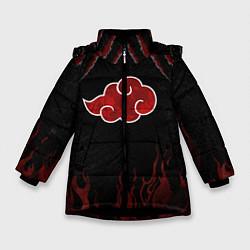 Зимняя куртка для девочки Акацуки