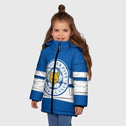 Куртка зимняя для девочки LEICESTER CITY - фото 2