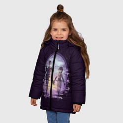 Куртка зимняя для девочки Dont Starve цвета 3D-черный — фото 2