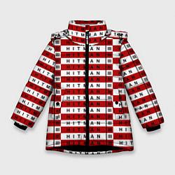 Куртка зимняя для девочки Hitman 3 цвета 3D-черный — фото 1