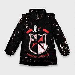Куртка зимняя для девочки Danganronpa цвета 3D-черный — фото 1