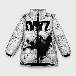 Детская зимняя куртка для девочки с принтом DayZ, цвет: 3D-черный, артикул: 10287273306065 — фото 1