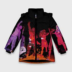 Зимняя куртка для девочки Танцы