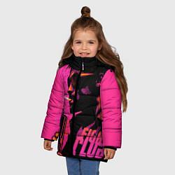 Куртка зимняя для девочки Тайлер Дёрден с динамитом цвета 3D-черный — фото 2