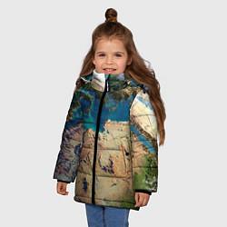 Куртка зимняя для девочки Земля - фото 2