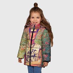 Куртка зимняя для девочки Фрида - фото 2