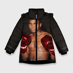 Куртка зимняя для девочки Мухаммед Али - фото 1