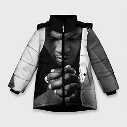 Куртка зимняя для девочки Майк Тайсон - фото 1