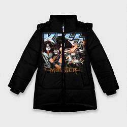 Зимняя куртка для девочки Kiss Monster