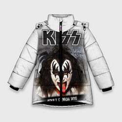 Зимняя куртка для девочки KISS: Adult demon wig