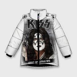 Зимняя куртка для девочки KISS: Adult spaceman wig