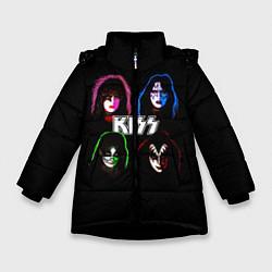 Зимняя куртка для девочки KISS: Acid Colours