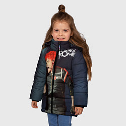 Куртка зимняя для девочки Gerard Way цвета 3D-черный — фото 2