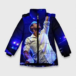 Куртка зимняя для девочки Armin Van Buuren цвета 3D-черный — фото 1
