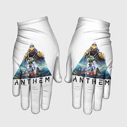 Перчатки ANTHEM Planet цвета 3D-принт — фото 1