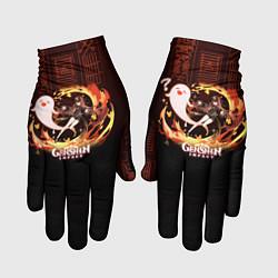 Перчатки Genshin Impact - Hu Tao