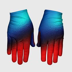 Перчатки Синий и красный