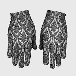 Перчатки Гламурный узор цвета 3D — фото 1