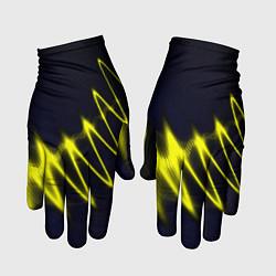 Перчатки Молния цвета 3D — фото 1