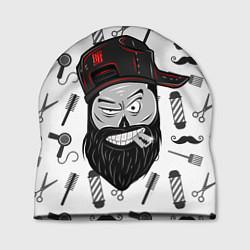 Шапка Барбер Борода цвета 3D-принт — фото 1