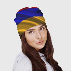 Шапка Флаг Армения цвета 3D-принт — фото 2