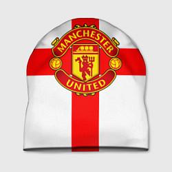 Шапка Manchester Utd: England цвета 3D — фото 1