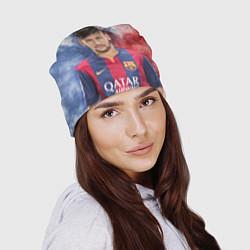 Шапка Neymar FCB цвета 3D — фото 2