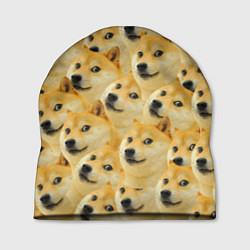 Шапка Doge цвета 3D-принт — фото 1