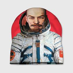 Шапка Ленин космонавт цвета 3D-принт — фото 1