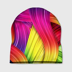 Шапка Абстракция цвета цвета 3D — фото 1