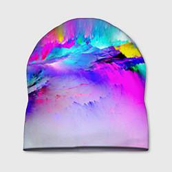 Шапка Абстракция цвета 3D — фото 1