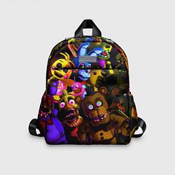 Детский рюкзак Five Nights At Freddy's цвета 3D-принт — фото 1