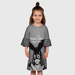 Платье клеш для девочки Ariana Grande: Rabbit цвета 3D-принт — фото 2