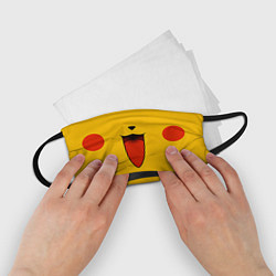 Маска для лица детская Pokemon Pikachu цвета 3D — фото 2