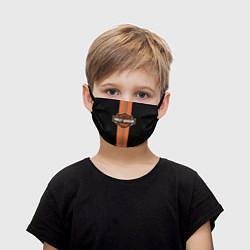 Маска для лица детская Harley-Davidson цвета 3D — фото 1