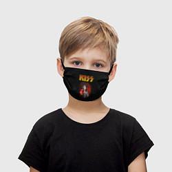 Маска для лица детская KISS: Paul Stanley цвета 3D — фото 1