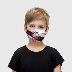 Маска для лица детская Ария: Анархия цвета 3D — фото 1